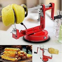 Rankinė spiralinė bulvių pjaustyklė
