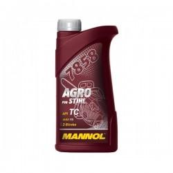 Dvitakčių variklių alyva MANNOL AGRO 1 litras